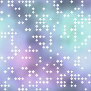 Seamless pattern with rhombus motif - stock illustration
