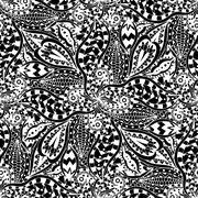 Ornament Pattern - stock illustration