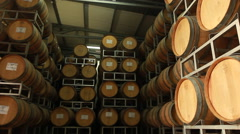 Stock Video Footage of Wine cellar