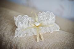 Wedding garter Stock Photos