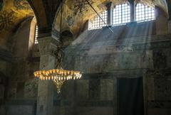Stock Photo of Hagia Sophia interior, Istambul, Turkey