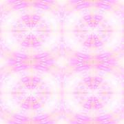 Seamless circles pattern pink violet shiny - stock illustration