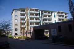 New buildings in Helsinki Stock Photos