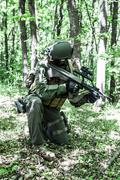 Stock Photo of Jagdkommando Austrian special forces