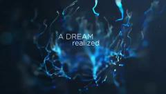 Stock After Effects of Abstract Art Title Quotes