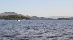 Loch Lomond in Luss, Scotland, UK, HD footage Stock Footage
