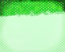 Green Polka Dots - stock illustration