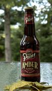 Point Amber Classic beer - stock photo