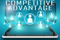Competitive Advantage Stock Illustration