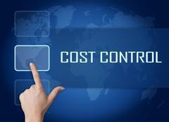 Cost Control Stock Illustration
