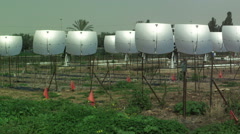 Video of a solar power plant shot in Israel. Stock Footage