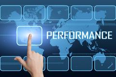Stock Illustration of Performance
