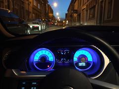 Interior Modern Muscle Car Kuvituskuvat