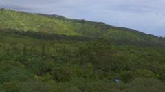 Hawaiian Landscape Stock Footage