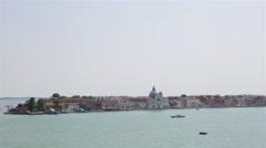 Venice Landscape Giudecca 01 Stock Footage