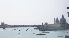 Venice Landscape Punta della Dogana San Marco 01 Stock Footage