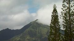 View of mountain near Wyndham Ka 'Eo Kai Stock Footage