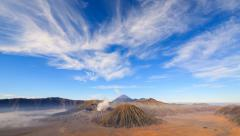 4K Timelapse Of Bromo volcano, East Java, Indonesia Stock Footage