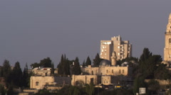 Video of Hagia Maria Sion Abbey filmed in Israel at 4k with Red. Stock Footage