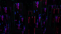 Color City Light Vj Loop 4K 06 - stock footage