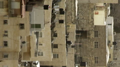 residences in Old Jerusalem filmed in Israel at 4k with - stock footage