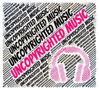 Stock Illustration of Uncopyrighted Music Indicates Intellectual Property Rights And Copyrighting