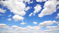 Many clouds in the sky Stock Footage