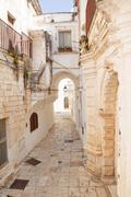 Alley Cisternino - stock photo