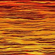Fiery waves or toxic water pattern made seamless. Video also available. Stock Illustration