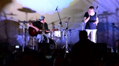 Stock Video Footage of Performance rock of collective