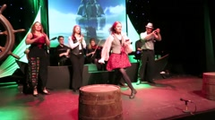 Irish Stage Dancing Ireland Stock Footage