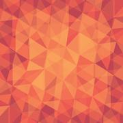 Abstract geometric shape pattern background vector Stock Illustration