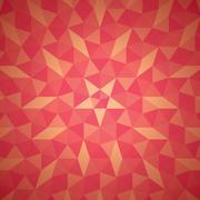 abstract geometric shape pattern background vector - stock illustration