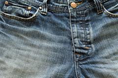 denim jeans design of fashion jeans pants - stock photo