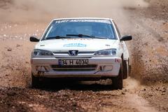 Bosphorus Rally 2015 - stock photo