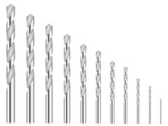 Stock Illustration of drill bits