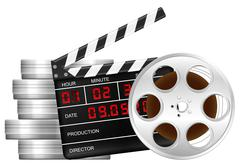 Film reel and clapper board Piirros