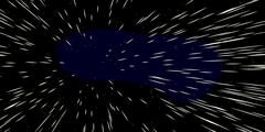 Fast Moving Stars Stock Illustration
