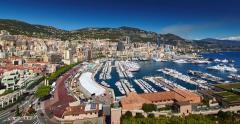 Monaco, Monte-Carlo, Port Hercules, luxury yachts show - stock footage