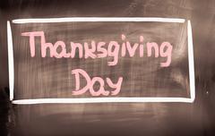 Thanksgiving Day Concept - stock illustration