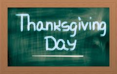 Thanksgiving Day Concept Stock Illustration
