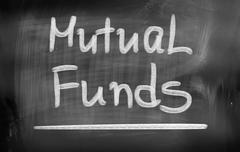 Mutual Funds Concept - stock illustration