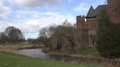 Castle Linn time lapse Stock Footage