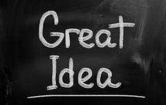 Stock Photo of Great Idea Concept