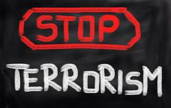No Terror Concept Stock Illustration