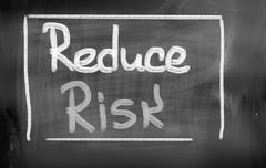Reduce Risk Concept - stock illustration