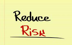 Stock Photo of Reduce Risk Concept