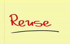 Stock Photo of Reuse Concept