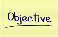 Objective Concept Stock Illustration