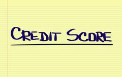 Credit Score Concept Stock Illustration